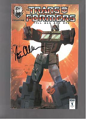 Transformers 1 Signed By Peter Cullen Optimus Prime Exclusie Variant Rare Vf/nm
