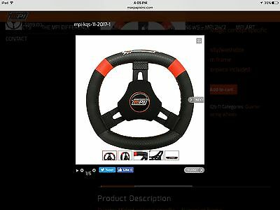 MPI Quarter Midget / Go Kart Steering Wheel, Kid Cart,
