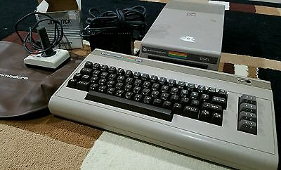 Vintage Commodore 1541 Disk Drive and Keyboard 64 / 128 Computers Cover / Stick