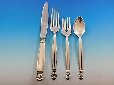 Copenhagen by Manchester Sterling Silver Regular Setting(s) 4pc