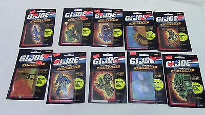 1986 GI JOE ACTION CARDS Sealed pack trading Card STICKER New Unopened