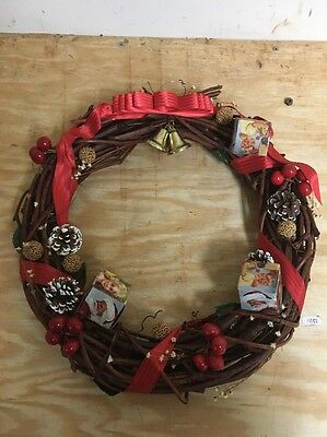 Vintage Christmas Wreath 1950-1960