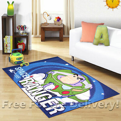 KIDS EXPRESS TOY STORY BUZZ FUN FLOOR RUG (XS) 100x150cm **FREE DELIVERY**