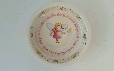 1890 Anderton Pottery England Children's Bowl Dish Twinkle Little Star Fairy