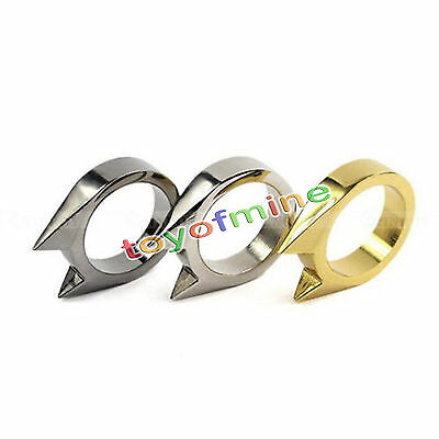 Self Defense Defence Protect Ring, Choose Colour Pocket Protection Cool
