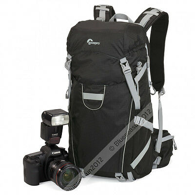 Lowepro Photo Sport 200 AW DSLR Camera Photo Bag Backpack Weather Cover (Black)