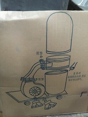 Single industrial Dust Extractor  3 phase Power