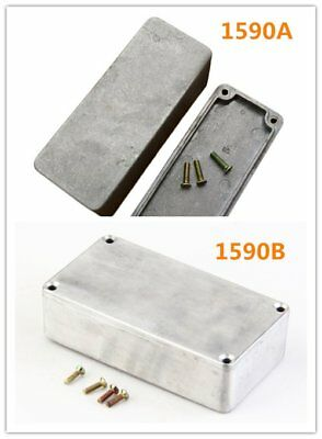 1590A / B Style Aluminum Stomp Box Effects Pedal Enclosure For Guitar Hotsell F&