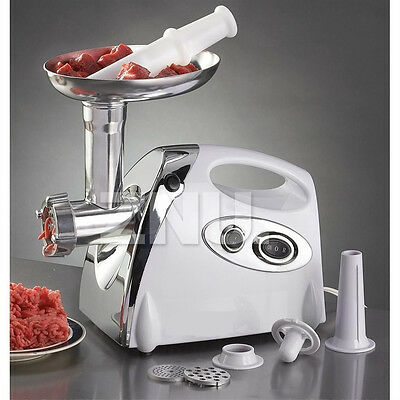 2800W Electric Meat Grinder Mincer & Sausage Maker Kitchen Filler Stuffer