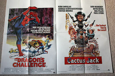 Cactus jack / Spiderman the dragons challenge uk quad  Arnie Schwarzenegger