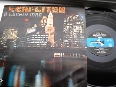 The Chi-Lites A Lonely Man Uk Lp Mca Northern Soul