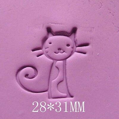 Cat Soap Stamp For Handmade Soap Candle Candy Stamp Fimo Stamp