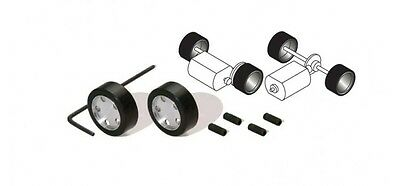 Scalextric C8412 Rally Wheels and Hubs set of two