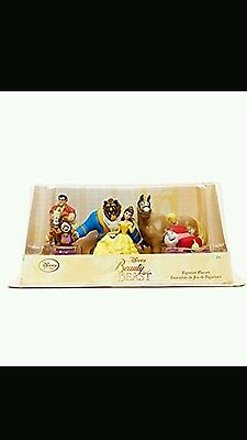 Disney Store Beauty and the Beast figure set collection, playset, brand new