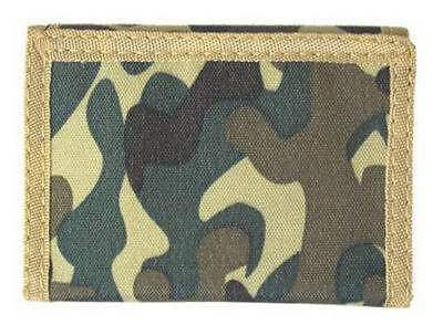 Brown Camouflage 3-fold Boy's Wallet