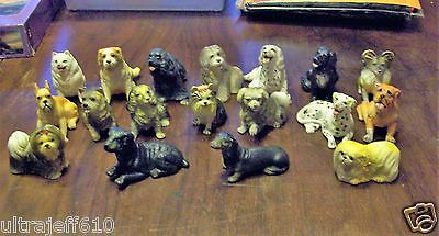 18 detailed  Mini figures of different breeds of dogs by New-Ray Novelty Toy