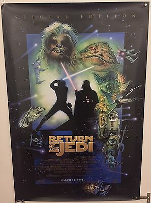 Star Wars Return Of The Jedi Special Edition One Sheet Original Movie Poster