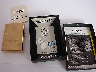 Zippo Victory Gold Edition Bradford,PA, Made in USA