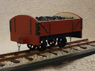 Sm32 16Mm/foot Open Wagon With Removable Coal Load Garden Railway Live Steam New