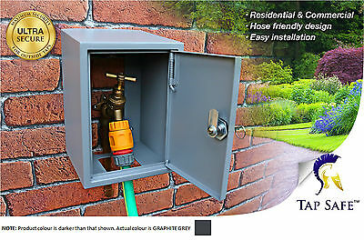 Tap Safe - Outside Garden Tap Cover, Protective Security Box With Lock