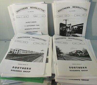 Southern Newsletter Business Journal, Southern Railways Group x127, 1980-2005