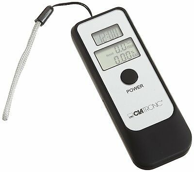 CLATRONIC Alkoholtester AT 3260 4 in1 - schwarz/Silber - Tester
