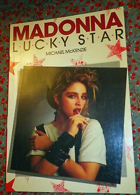 Rare Madonna Lucky Star Book By Michael Mckenzie 1985