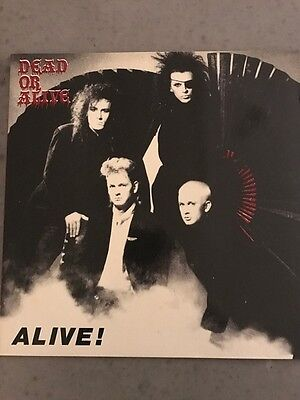 DEAD OR ALIVE - ALIVE! rare live record from Sophisticated Boom Boom