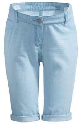 Next Maternity Blue Shorts For Women`s Size 22