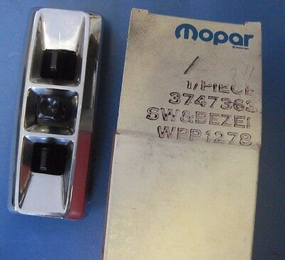 NOS 6 way power seat switch 1978-1983 Dodge trucks