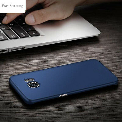 Luxury Ultra Thin Slim Hard matte Back Case Cover For Samsung Galaxy S6 S6edg S7