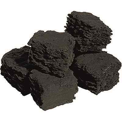 replacement coals for gas fires imitation coal ceramic live flame loose SQUARE
