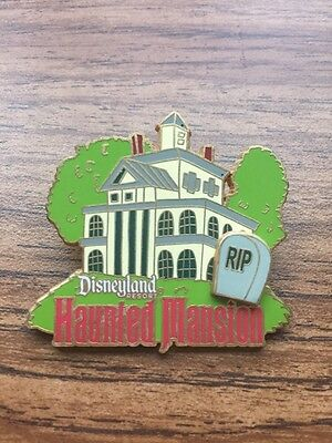Disney Pin Disneyland Hunted Mansion With Tombstone 2007