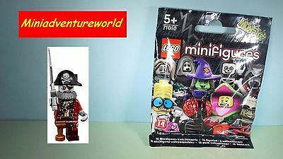 Lego GENUINE NEW Minifigure Monster Series 14 Zombie Pirate in ORIGINAL PACKET