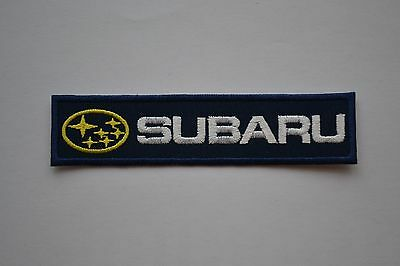 Patch Subaru Embroidered Sew Iron on Car Patches Badge Premium Quality new