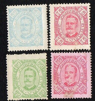 Cape Verde stamps. 1894 -1895 King Carlos I of Portugal, 1863-1908. MH