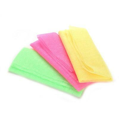 Japanese Exfoliating Wash Cloth- Microdermabrasion Face Body Scrub Shower Bath