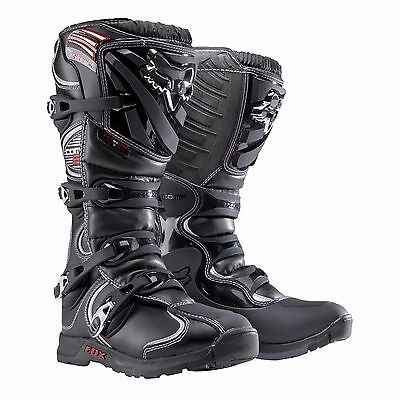 Fox - Comp 5 Adult Mens MX Boot - Black - 05023-001-8
