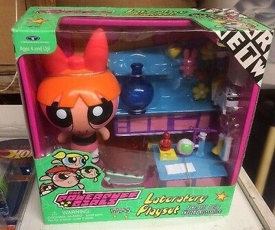 Powerpuff Girls Laboratory Playset Factory Sealed