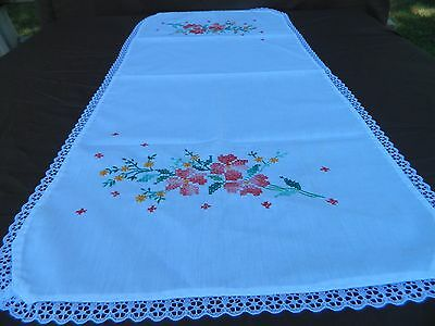 New embroidered dresser/tablecloth