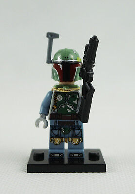 Minifigures Boba Fett Clone Wars Movie Star Wars The Force Awakens Building Toys