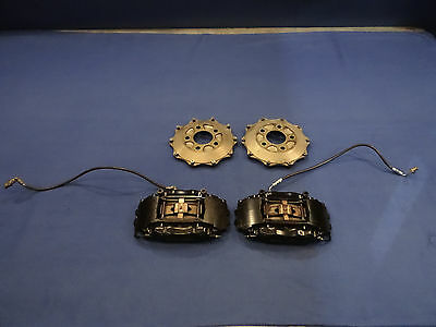 Ford Mustang FR500 Brembo Calipers Hose Brakets Hats Used Take Off Set