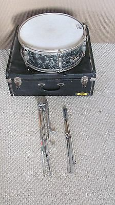 1966 Black Diamond Ludwig Snare Drum With Case