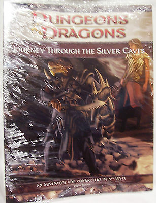 D&D Dungeons & Dragons JOURNEY THROUGH THE SILVER CAVES(Game Day 09?) Module-New
