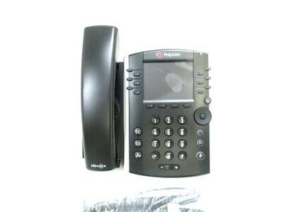 Polycom VVX 400 VoIP IP SIP Business Media Phone (2200-46157-025) - NEW