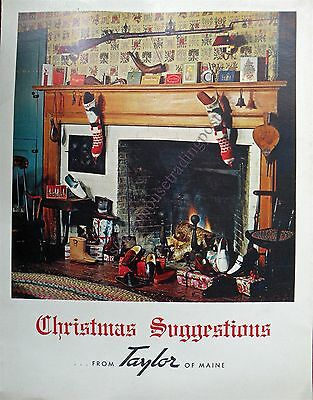 Freeport/ Taylor Of Maine Shoes Advertising Christmas Suggestion Catalog 1969