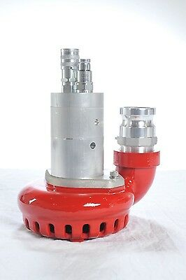 """2"""" Discharge Hydraulically Powered Submersible Water Pump"""