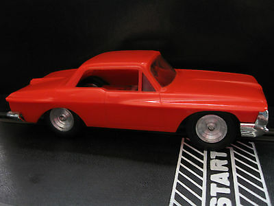 Eldon Custom Orange Plymouth Fury Slot Car 1/32 Scale Slot cars