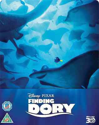 Finding Dory 3D Limited Edition SteelBook [BR3D + Blu-ray, Region Free, 2-Disc]