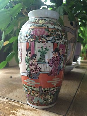 20th Century Chinese Canton Famille Rose porcelain Vase